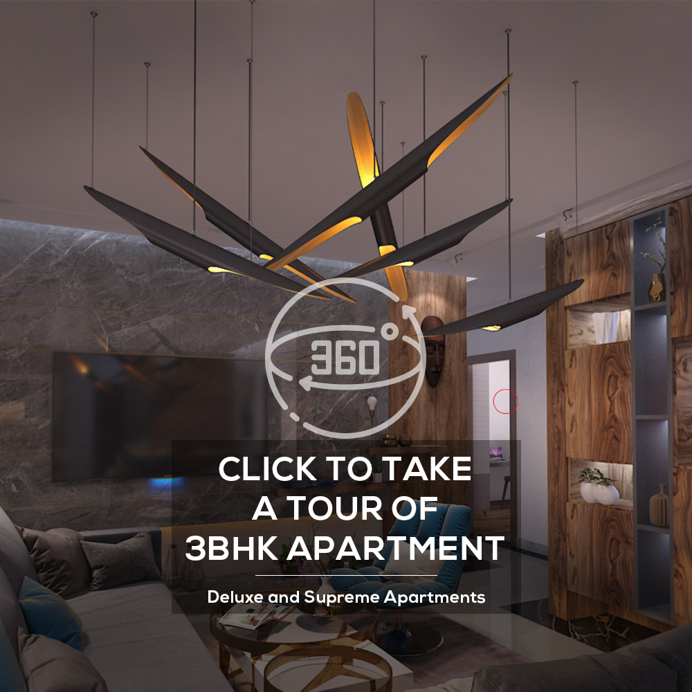 Virtual Tour 3 BHK Apartment
