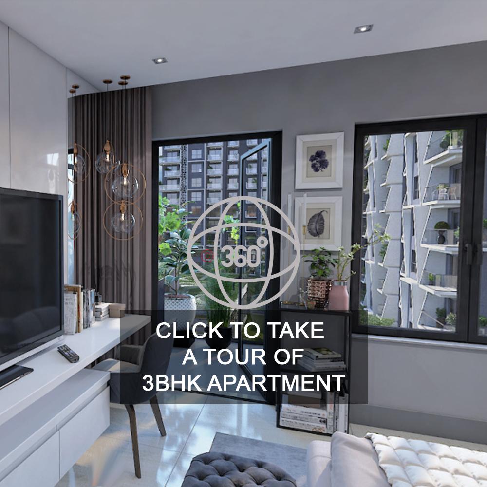 Virtual Tour 3 BHK Apartment